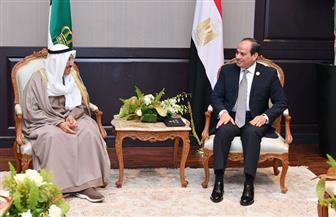 الرئيس السيسي يستقبل أمير الكويت ويؤكد تقديره للجهود المصرية تعزيزا لمسار العمل العربي المشترك