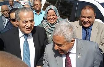 وزير التموين يتفقد مطحن ناصر بكوم أمبو | صور