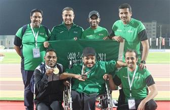 """المنتخب السعودي لـ""""أصحاب الهمم"""" يحقق 4 ميداليات في أول أيام بطولة """"فزاع"""" بدبي"""