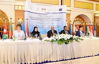 نص كلمة رئيس مجلس النواب في الجلسة الافتتاحية للمؤتمر الإقليمي حول مكافحة الإرهاب بالأقصر | صور