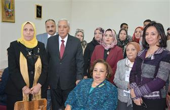 مايا مرسي تتفقد التجهيزات الخاصة بمتحدي الإعاقة في الدقهلية  صور