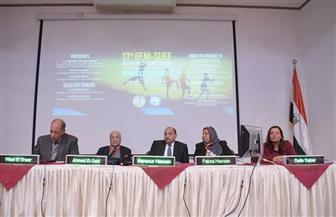 رئيس جامعة بني سويف يفتتح فعاليات المؤتمر الثالث عشر لطب الأطفال