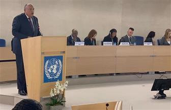 نص بيان مصر أمام الشق الرفيع المستوى للدورة الأربعين لمجلس حقوق الإنسان بجنيف