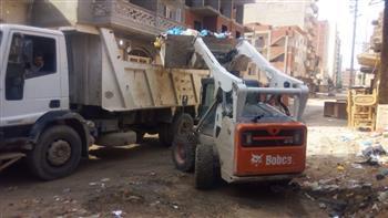 محافظ مطروح: حملات مستمرة لإزالة الإشغالات ورفع القمامة لإعادة الانضباط للشوارع