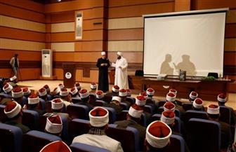 خالد الجندي والحبيب الجفري يحاضران بأكاديمية الأوقاف | صور