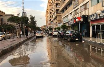 أمطار غزيرة علي مدن وقري  كفرالشيخ تتسبب في إغراق الشوارع وتوقف عمليات الصيد | صور