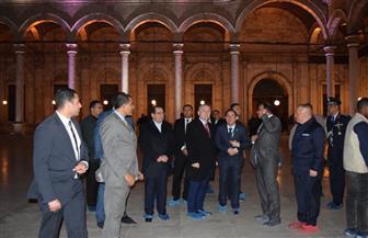 رئيس دولة ألبانيا يزور قلعة صلاح الدين الأيوبي | صور