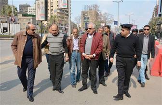 محافظ الجيزة يزيل 3 أكشاك بجامعة الدول العربية | صور