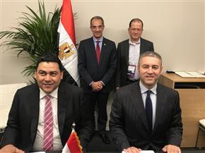 وزير الاتصالات يشهد توقيع اتفاقية لاستضافة أول شبكة سحابة حوسبية لمايكروسوفت في مصر | صور
