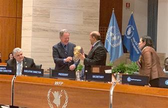 سفير مصر في إيطاليا: انتخاب مصر لرئاسة المجلس التنفيذي لبرنامج الغذاء العالمي| صور