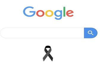 جوجل يعلن الحداد على ضحايا حادث محطة مصر