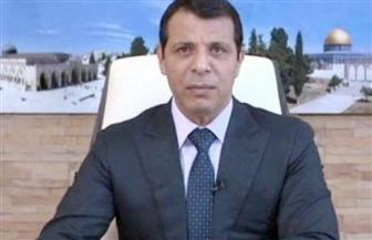 """""""دحلان"""" يقدم التعازي للشعب المصري في ضحايا حادث محطة مصر"""