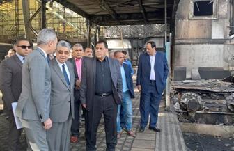 وزير الكهرباء المكلف بتسيير أعمال وزارة النقل يتفقد محطة مصر للتأكد من انتظام القطارات| صور
