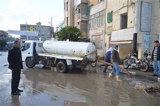 كفر الشيخ تتعرض لموجة طقس سيء وتوقف حركة الصيد | صور