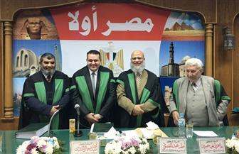 الزميل أحمد عادل يحصل على درجة الماجيستر بتقدير ممتاز في التاريخ الإسلامي | صور
