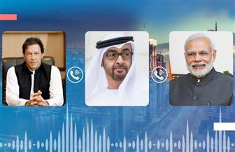 محمد بن زايد يدعو الهند وباكستان لتخفيف حدة التوتر وتغليب لغة الحوار
