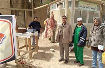 منفذ متحرك لبيع السلع الغذائية بأسعار مخفضة بجنوب سيناء   صور