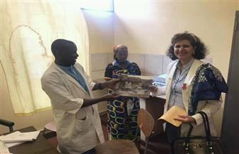 سفيرة مصر فى بوروندى تزور مستشفي مورامفيا لبحث فرص التعاون الثنائي|صور