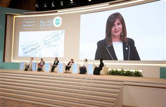 وزيرة الهجرة تشارك في الجلسة الأولى لمؤتمر الأخوة الإنسانية بأبوظبي   صور