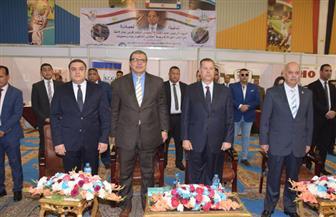 وزير القوى العاملة ومحافظ بني سويف يفتتحان الملتقى التوظيفي الأول لعام 2019 | صور
