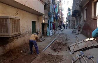 استمرت 15 عاما.. إنهاء معاناة أهالي منطقة قتيبة بن مسلم بمدينة الأقصر من الصرف الصحي | صور