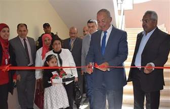 محافظ البحر الأحمر يفتتح مركز معلومات المرافق ومدرسة مصر الحديثة بالغردقة | صور