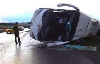 مقتل 7 وإصابة عشرات في انقلاب حافلة في روسيا
