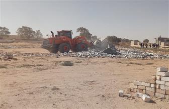"""""""الغرابلي"""": إزالة 21 حالة تعد على حرم أرض جامعة مطروح"""