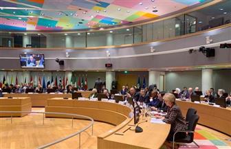 وزير الخارجية يشارك في الاجتماع الوزاري العربي الأوروبي في بروكسل | صور