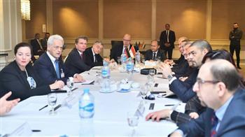 نصار ونظيره الألماني يترأسان اجتماع الدورة الخامسة للجنة الاقتصادية المشتركة