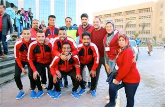 طنطا تحصل على ميدالية فضية و4 برونزيات في أسبوع شباب الجامعات بكفر الشيخ | صور