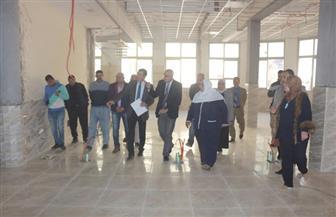 رئيس جامعة المنصورة يتفقد التجديدات بكلية طب الأسنان | صور