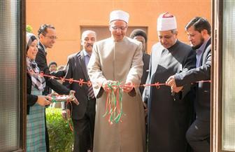 وكيل الأزهر يفتتح المقر الجديد لبرلمان الطلاب الوافدين | صور