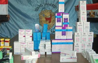 أدوية من جامعة سوهاج لمستشفى كفر الشيخ