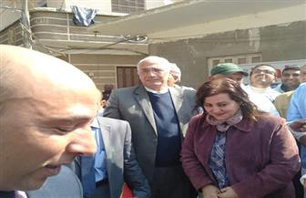 محافظ أسيوط ونائب وزير الزراعة يتفقدان أعمال القافلة الطبية البيطرية المجانية