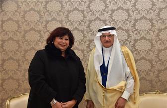وزيرة الثقافة تلتقي أمين عام منظمة التعاون الإسلامي لبحث تعزيز الحوار الثقافي