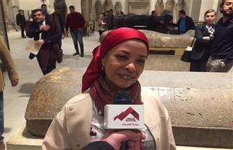 إلهام صلاح: المتحف المصري بالتحرير لا يخلو من المعارض الأثرية
