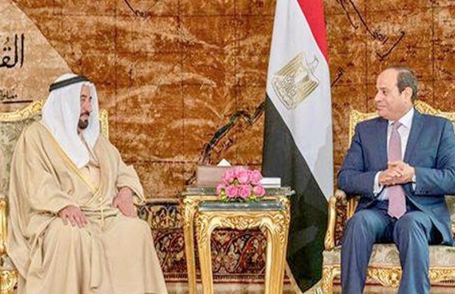 خلال لقائه الرئيس السيسي.. حاكم الشارقة يشيد بدور مصر في الدفاع عن القضايا العربية -