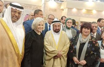 الحاج علي: زيارة حاكم الشارقة لمعرض الكتاب مؤشر على نجاحه| صور
