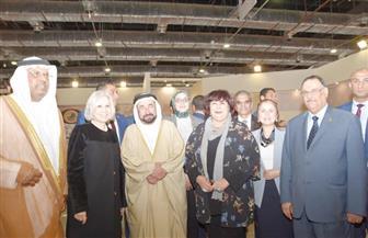 د. سلطان القاسمي: نعتزم المساهمة بتطوير سور الأزبكية الذي تعلمنا منه | صور