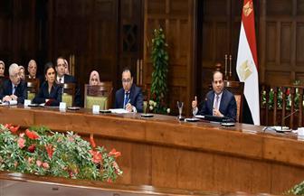 تفاصيل لقاء الرئيس السيسي مع محافظ بورسعيد وعدد من القيادات التنفيذية والشعبية والطلابية بالمحافظة   صور