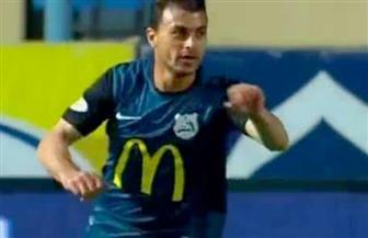 محمود قاعود يقلص الفارق لإنبى فى مرمى الأهلي بالدقيقة 80