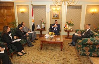 وزير التعليم العالي يستقبل سفير قبرص بالقاهرة لبحث سبل تعزيز التعاون بين البلدين | صور