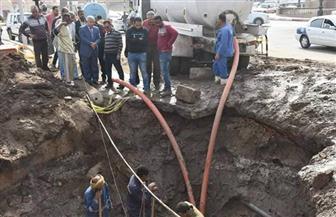 انقطاع مياه الشرب عن مدينة أسوان | صور