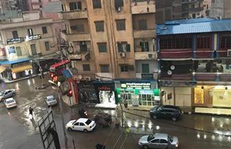 كفرالشيخ تتعرض لأمطار غزيرة تغرق الشوارع وتقطع الكهرباء وتوقف عمليات الصيد | صور