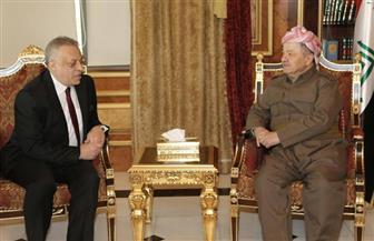 مسعود بارزاني يبحث مع قنصل مصر بأربيل توطيد العلاقات بين مصر وكردستان العراق