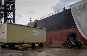 لأول مرة.. وحدة متنقلة لإمداد السفن العملاقة بالتيار الكهربى بميناء دمياط | صور