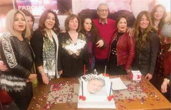 نجوم الفن يحتفلون بعيد ميلاد فاروق الفيشاوى | صور