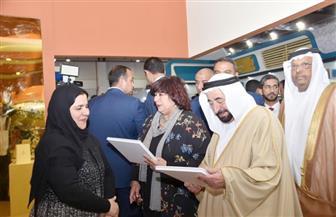 مسئولة الجناح البحريني: أهدينا إصداراتنا لمكتبة الإسكندرية وهيئة الكتاب.. ونفخر بمشاركتنا في المعرض