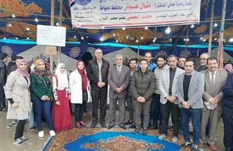 """حزب مستقبل وطن يفتتح معرض """"عودة المدارس"""""""